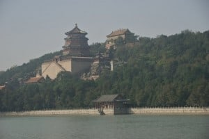 summer palace lake view bejing china