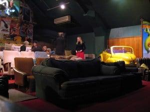 photo of interior cinema paradiso wanaka new zealand