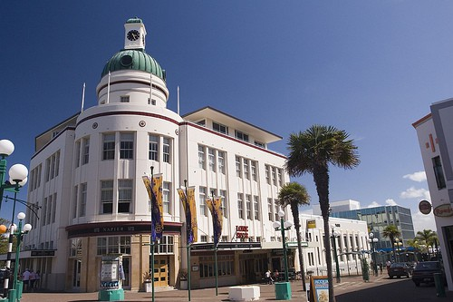 napier new zealand art deco city