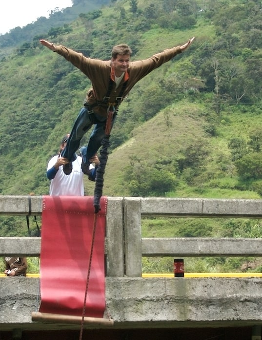 michael hodson bridge jumping banos ecuador