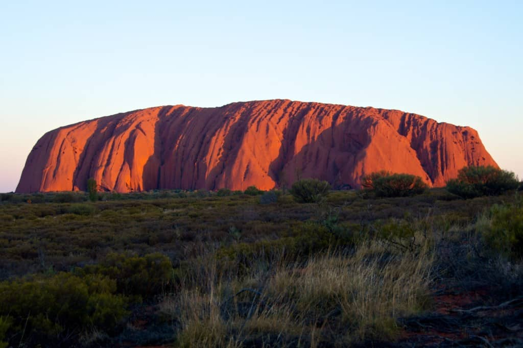 Uluru in Australia