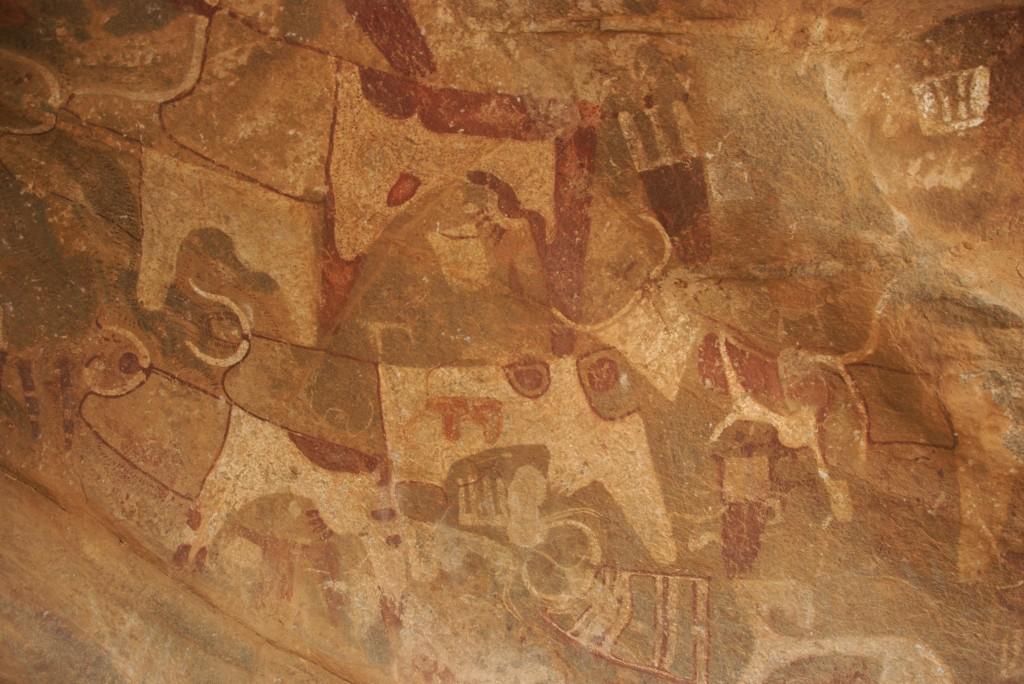 somaliland rock art from laas gaal, cave art
