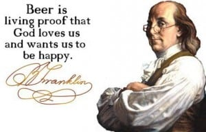 Beer and Ben Franklin