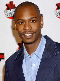 photo of dave chappelle of comedy central