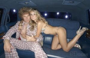 heidi klum pinching will ferrell's nipples in limo