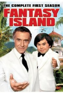 season 1 DVD fantasy island tv show poster