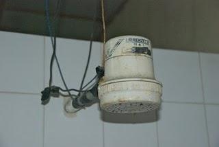 electric shower head latin america called widow maker