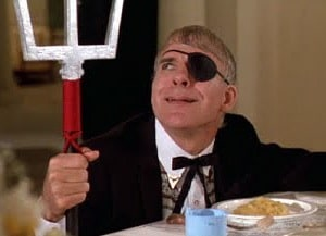 steve martin dirty rotten scoundrels ruprecht dinner