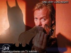 jack bauer verses batman 24 television show