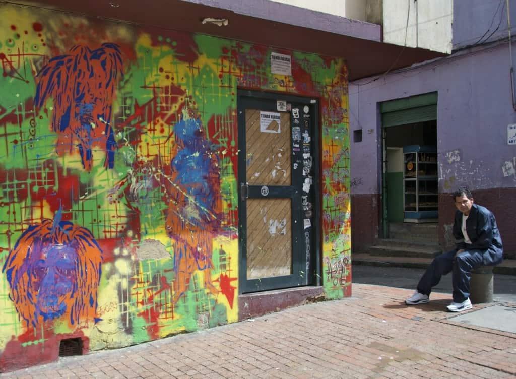 bogota graffiti colorful