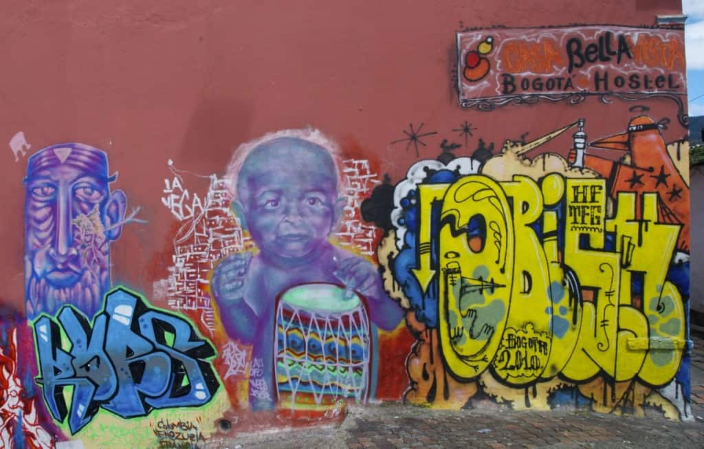 bogota graffiti street art