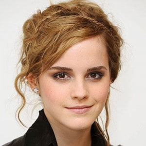emma watson head shot short hair
