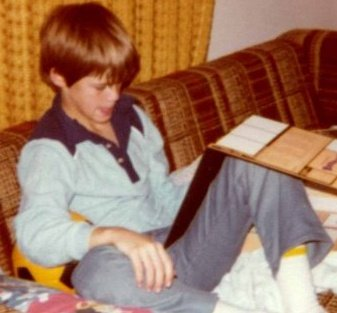 young michael hodson reading