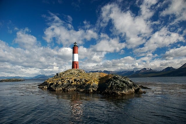 patagonia lighthouse beagle channel near ushuaia