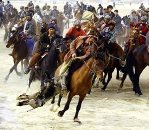 Buzkashi competition pakistan overland travel