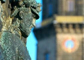 dresden warrior statue germany
