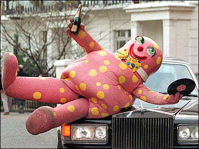 I didn't know what Mr. Blobby was. Now I wish I hadn't looked.