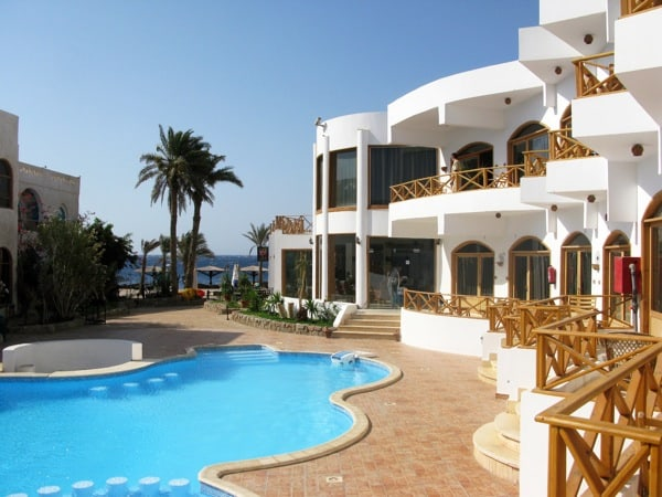 the pool at Red Sea Relax Resort