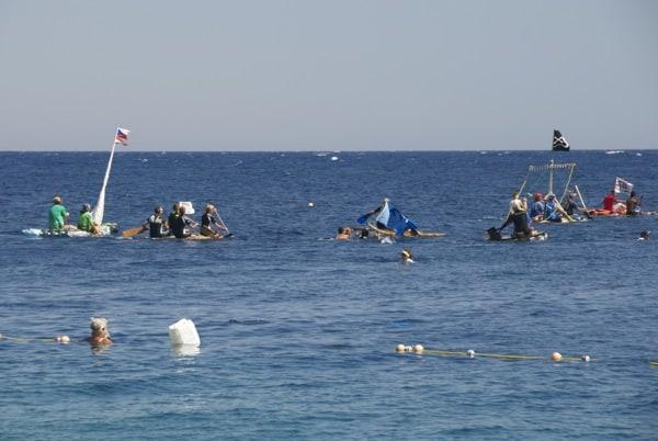 first annual dahab festival raft race