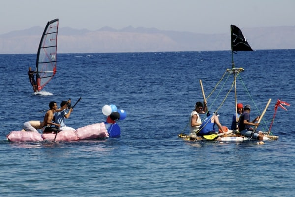 first annual dahab festival raft race