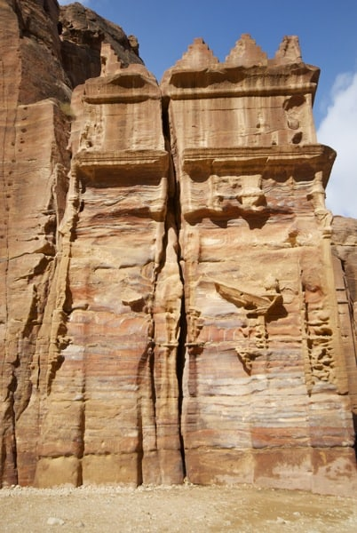 unreal colors petra jordan walls