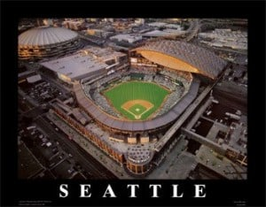 seattle safeco field mariners baseball park