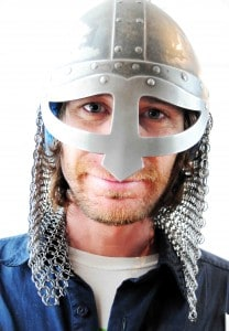 Randy of bearsandbeans modern day Icelandic warrior