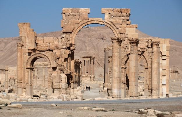Palmyra entrance arch