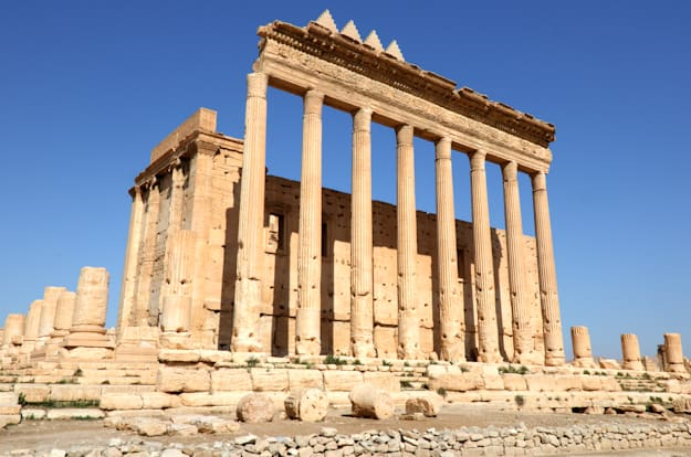 Temple of Bel -- the largest building on site