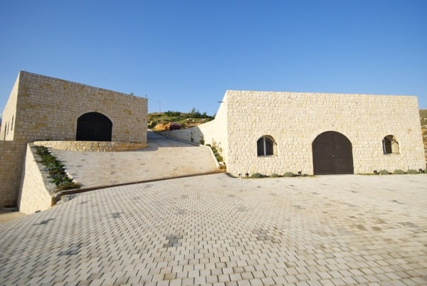 the actual winery buildings