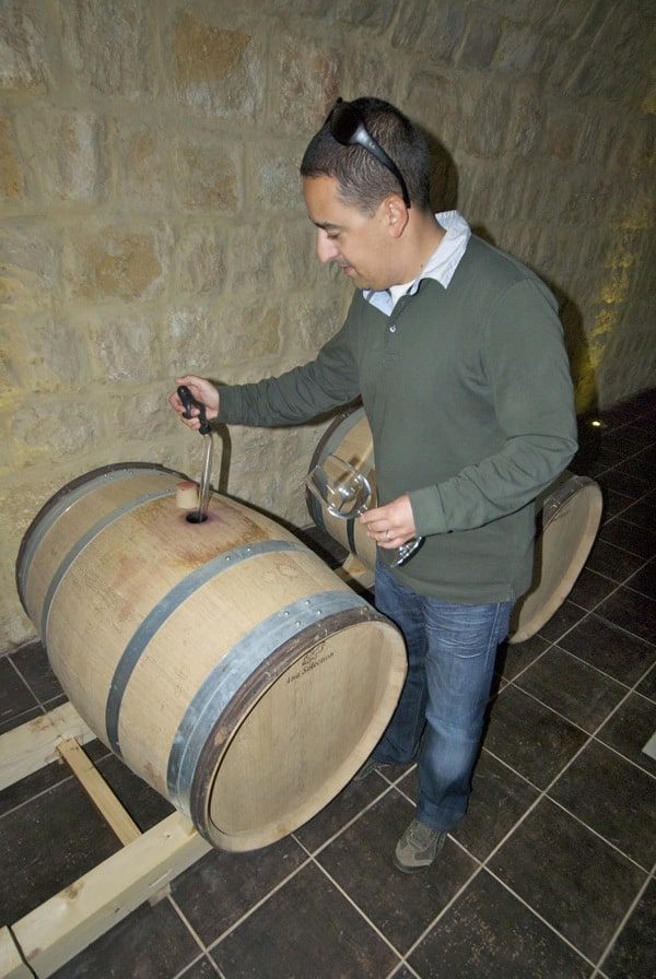 wine right out of the cask