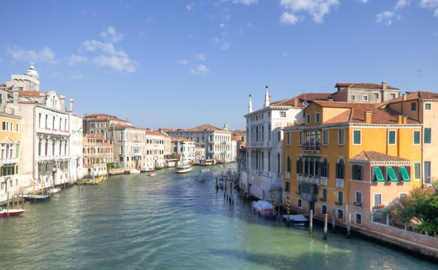 Venice Grand Canal from Accademia Bridge