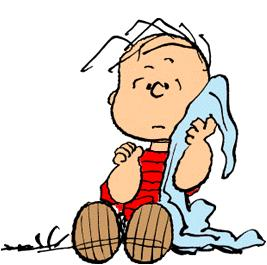 Linus cartoon from snoopy