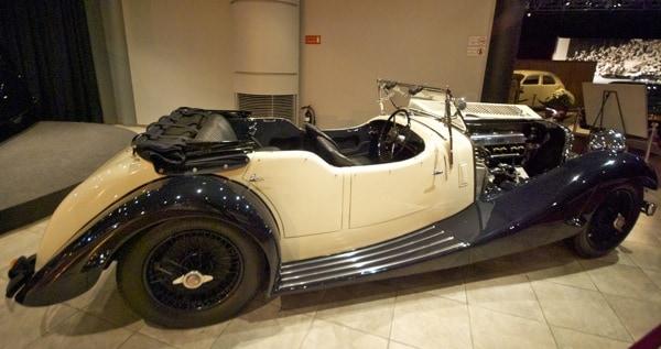 open top classic roadster