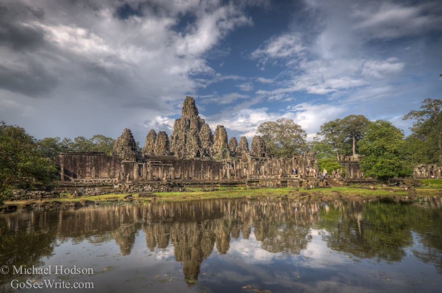 bayon temple cambodia