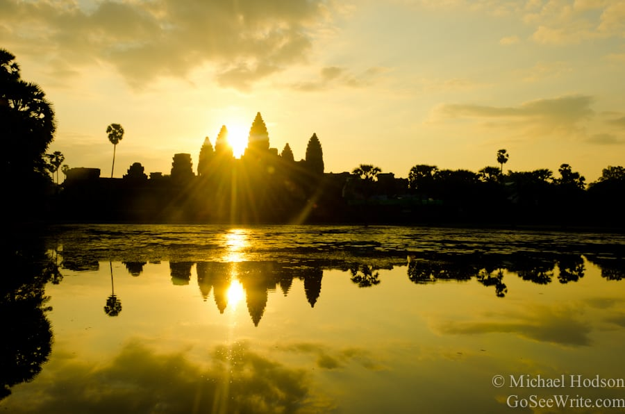 Travel Photo Roulette: Angkor Wat. Copyright by goseewrite.com