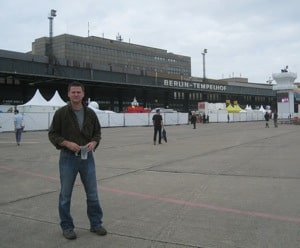 michael hodson at berlin templehof airport