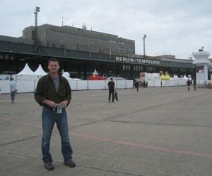 michael hodson at berlin templehof airport