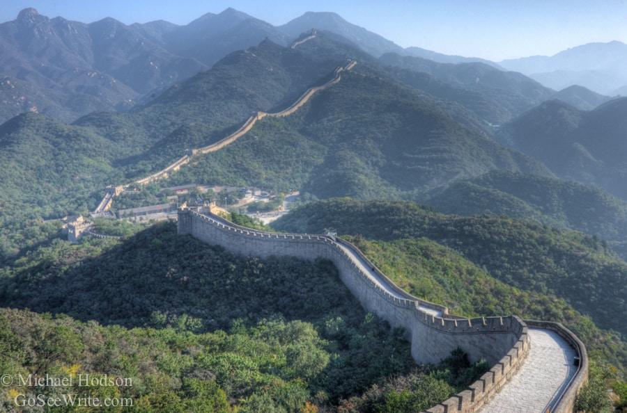 Great Wall of China no people
