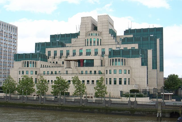 james bond headquarters MI6