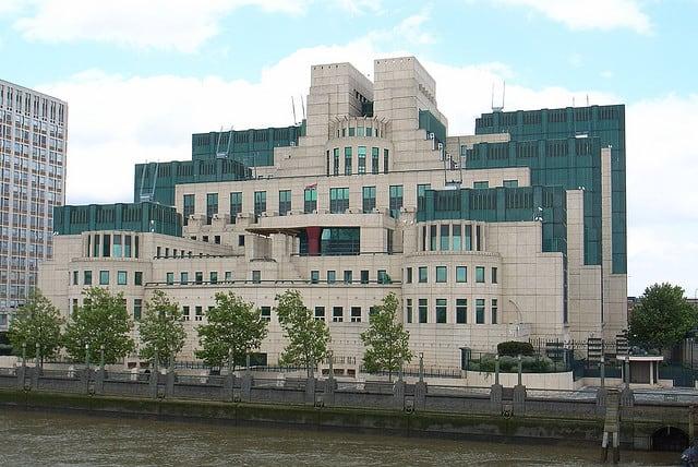 james bond headquarters MI6