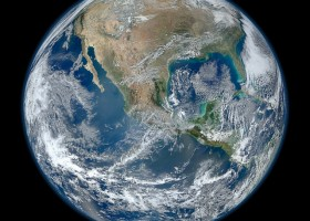 Earth from space 640 HDR