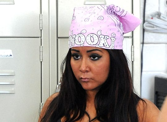 Snooki AND Danny Bonaduce in the same interview??! Gold, I tell ya. Gold.