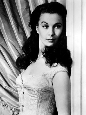 Vivien Leigh sexy in black and white