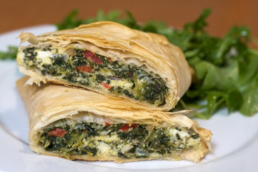 Spanakopita -- I had to look it up