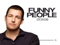 adam sandler movie poster for funny people movie