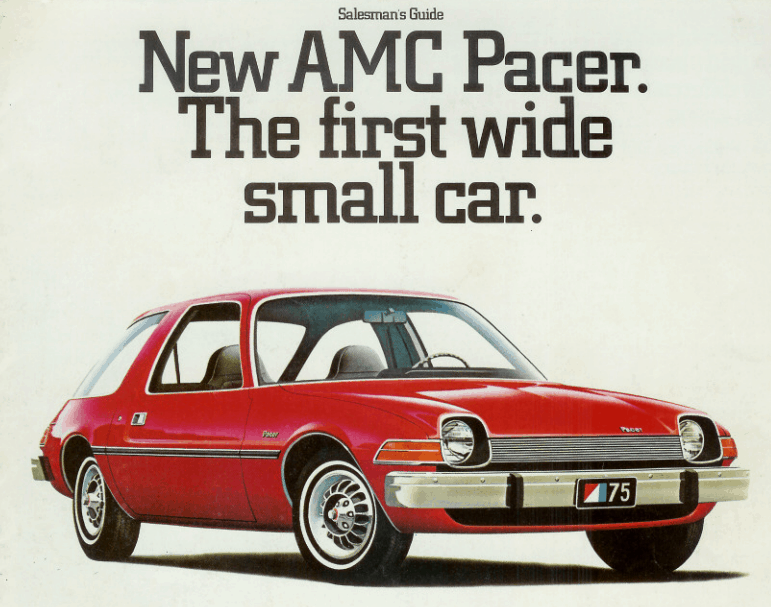 amc pacer salesman guide