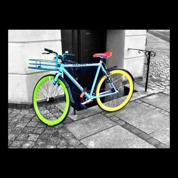 bicycle from copenhagen denmark