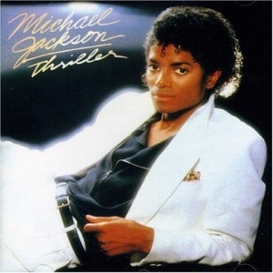 michael jackson triller album cover