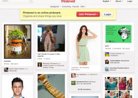 pinterest initial news feed